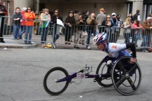 2013 Boston Marathon men's wheelchair race