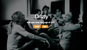 Drizly website