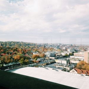 View from Student Village Two