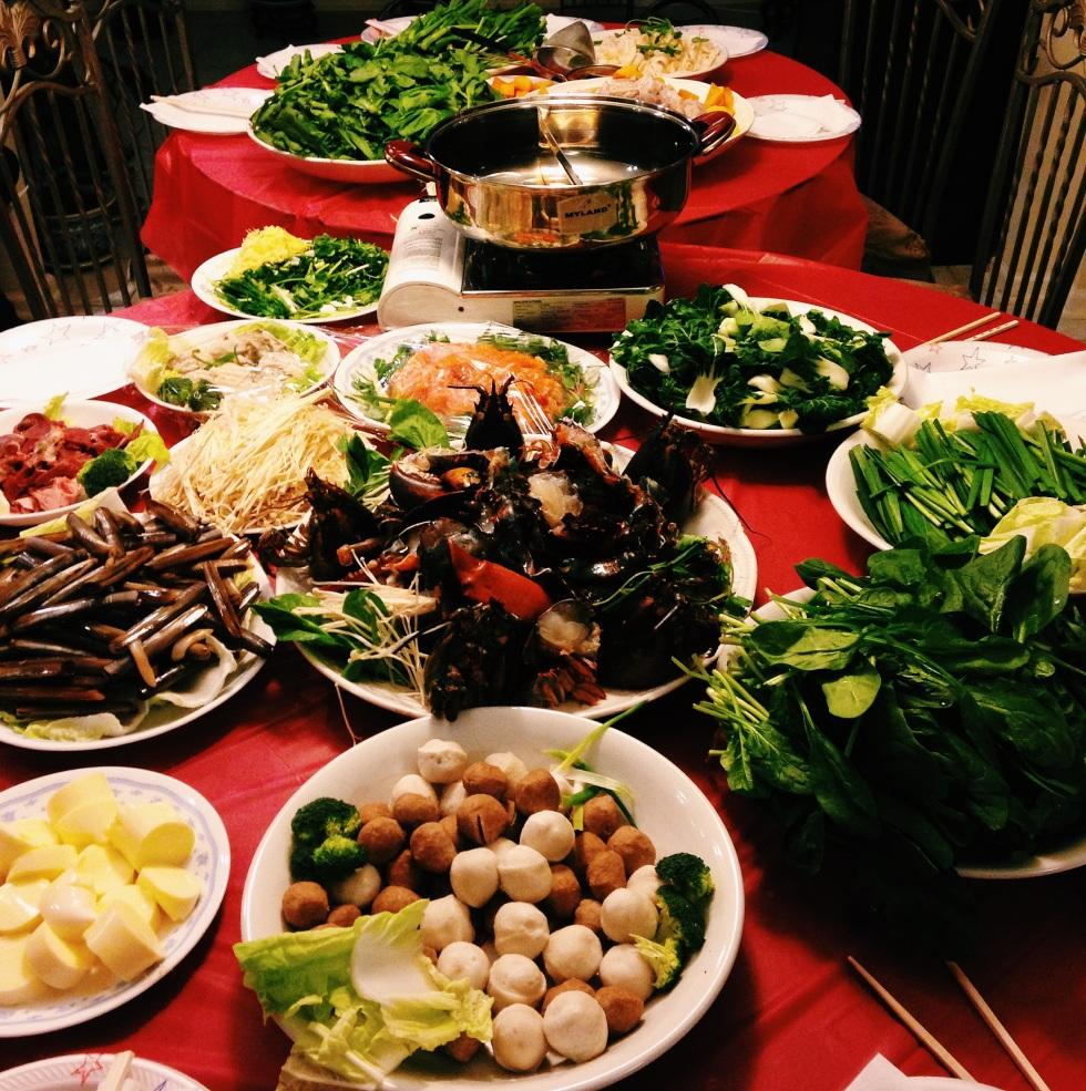 Chinese New Year hot pot