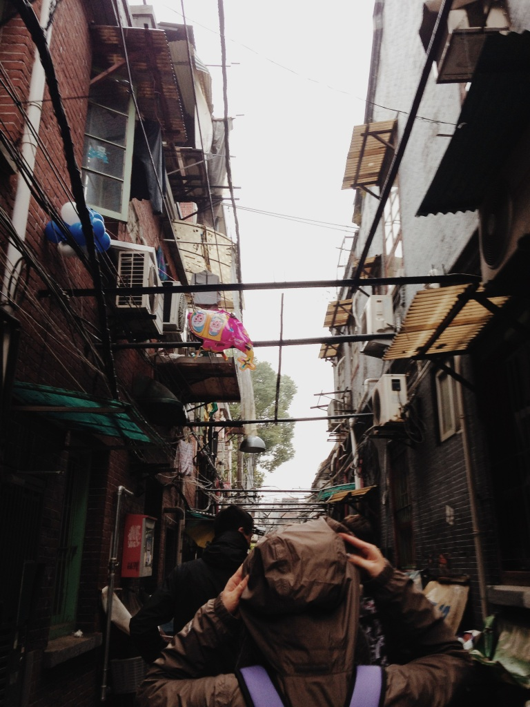 Shanghai's lilong alley neighborhoods