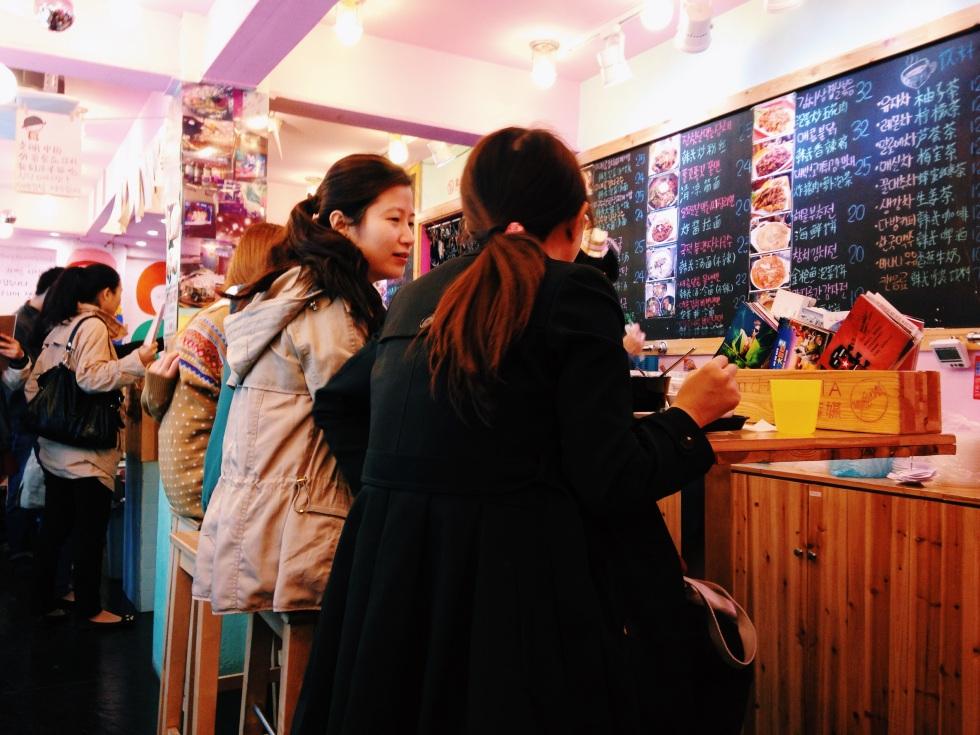 Korean food in Shanghai