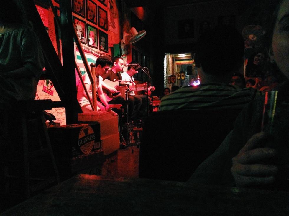 Roots Reggae bar at Houhai