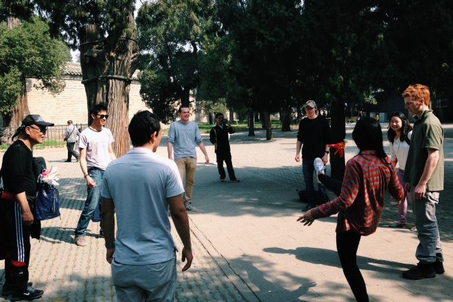Temple of Heaven activities
