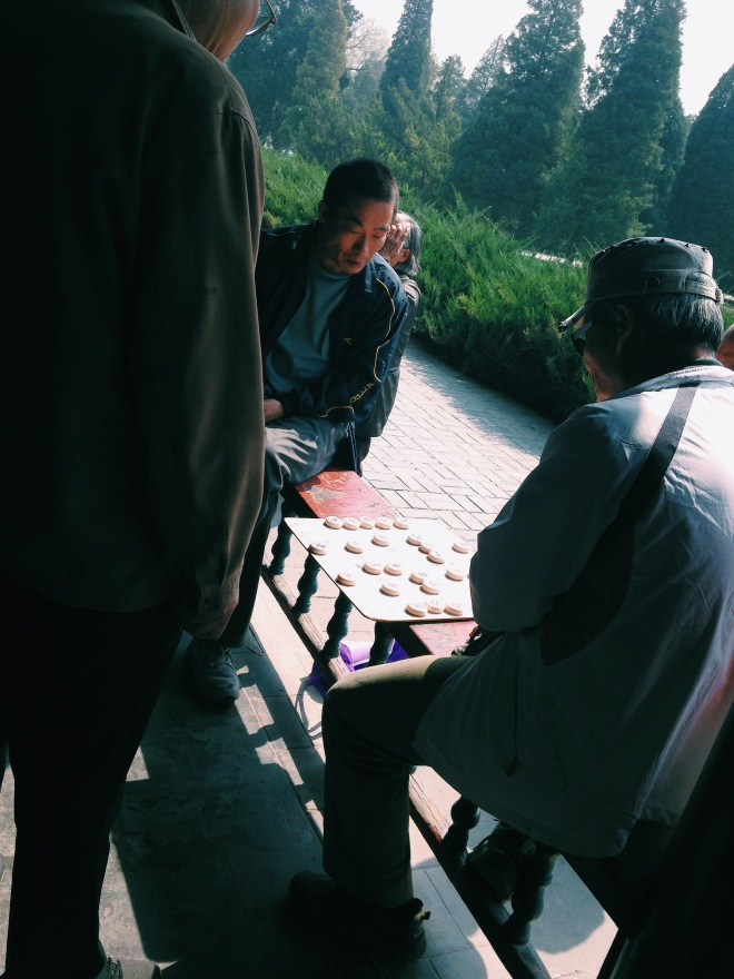 Chess at the Temple of Heaven