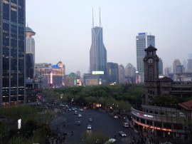 View from JW Marriott Hotel in Shanghai