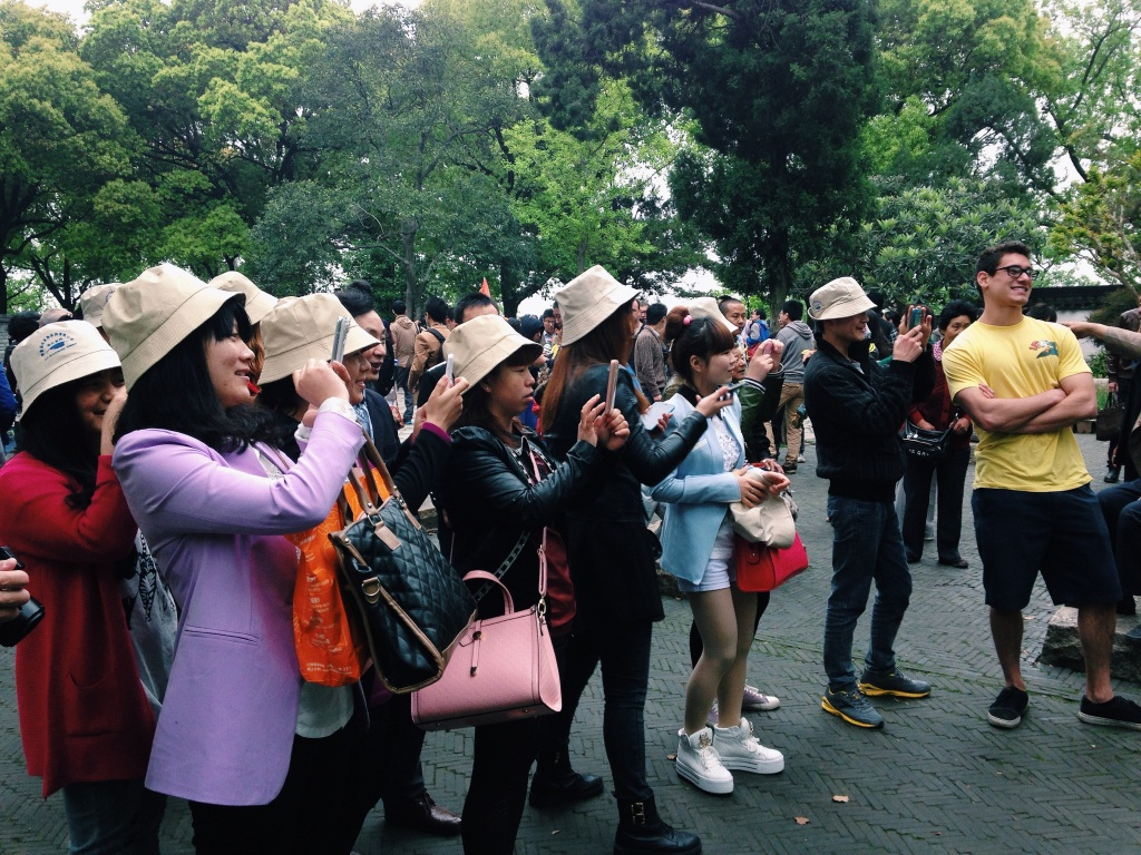 Asian tourists' fascination with other-colored people