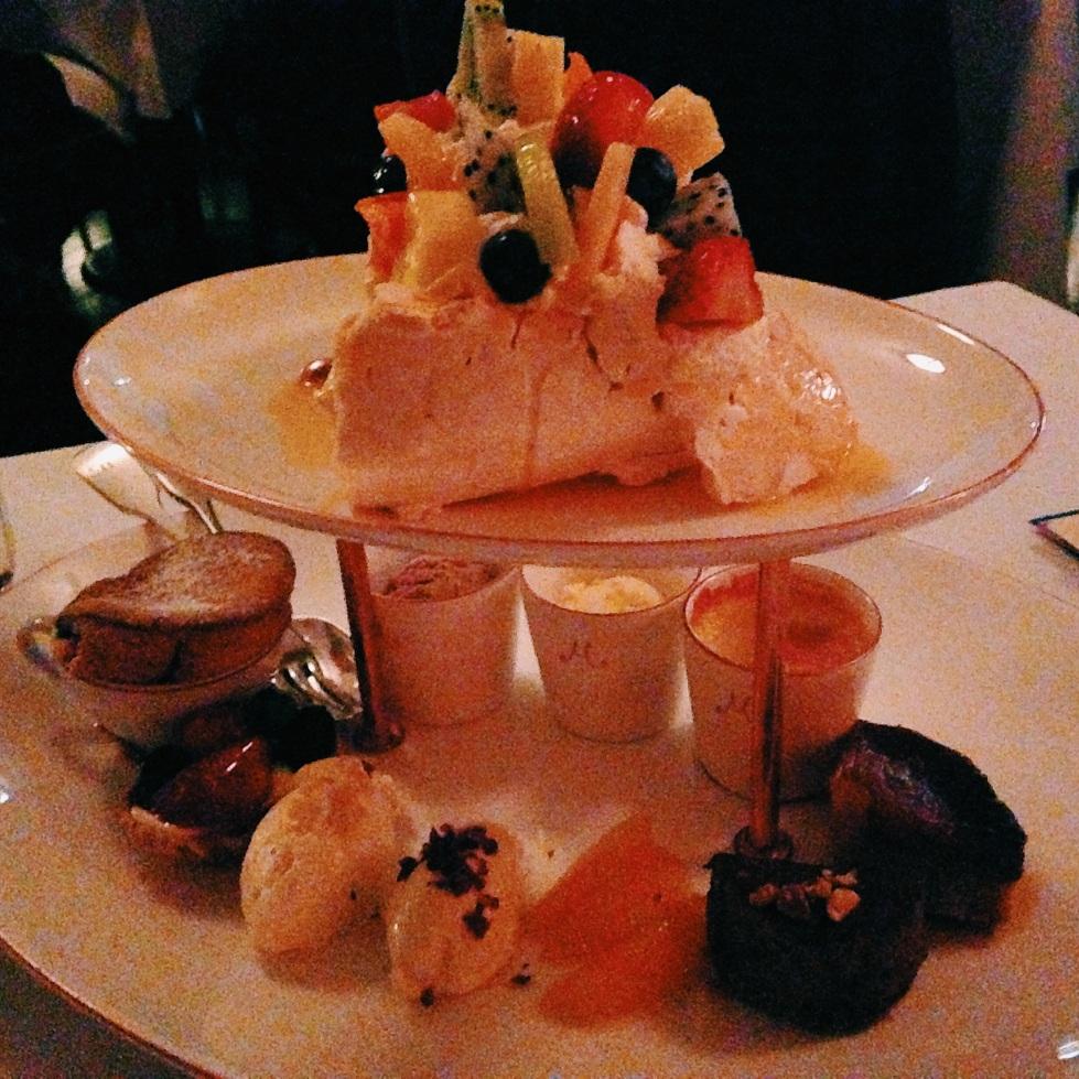 M on the Bund dessert platter