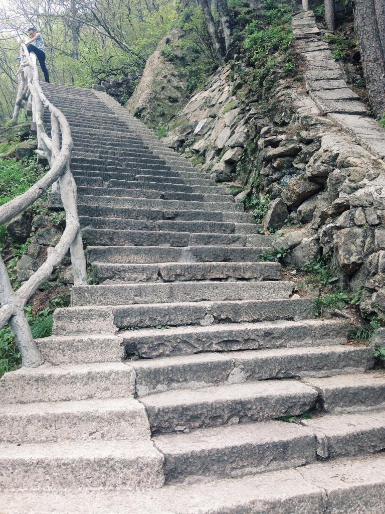 Huangshan steps