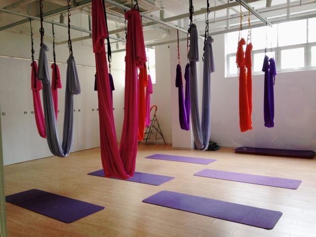Om Factory Shanghai aerial yoga