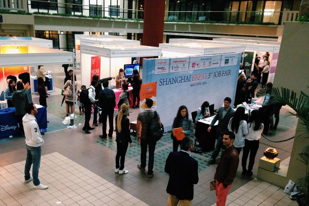 Shanghai Expat third annual job fair