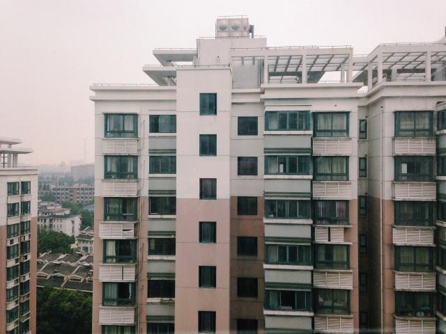 Gloomy Shanghai day