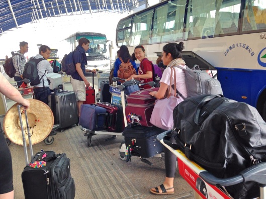 Airport dropoff