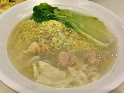 Shrimp wonton noodles