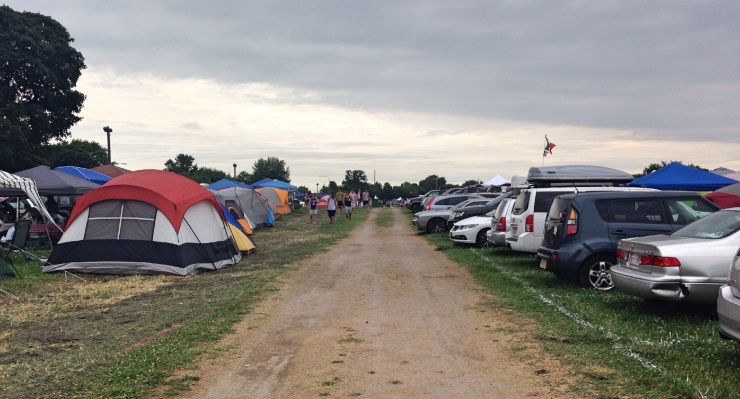 Firefly Music Festival 2014 campgrounds