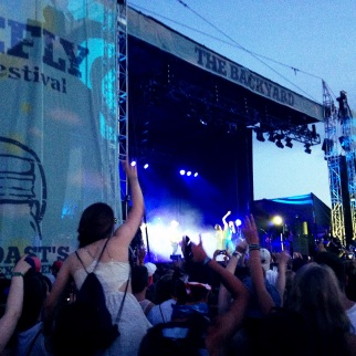Young the Giant at Firefly Music Festival 2014