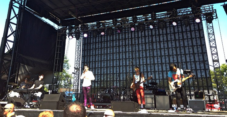 A Great Big World at Firefly Music Festival 2014