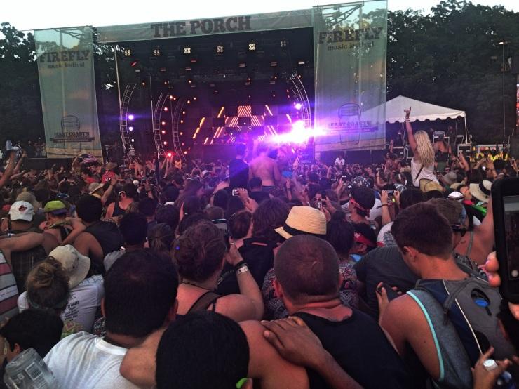 Martin Garrix at Firefly Music Festival 2014