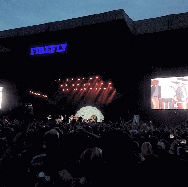 Imagine Dragons at Firefly Music Festival 2014