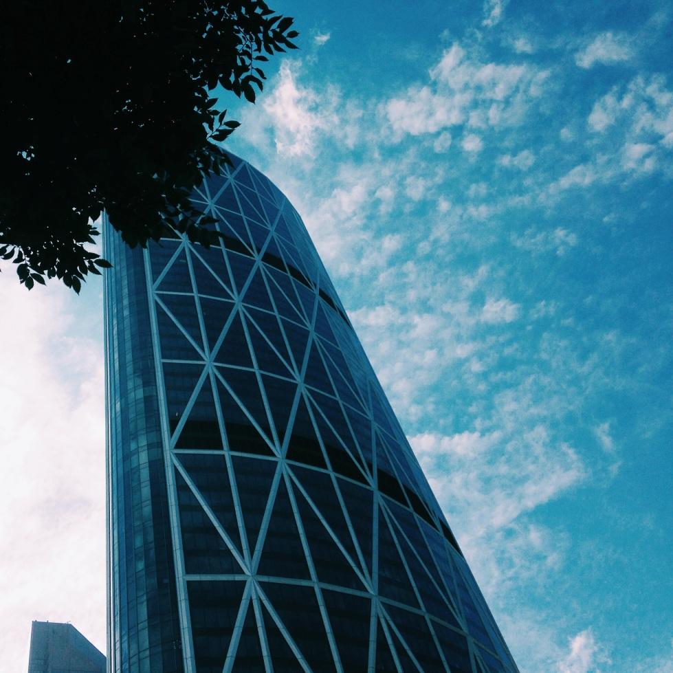 The Bow skyscraper in Calgary