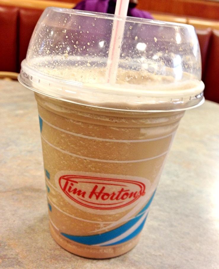 Tim Hortons iced capp