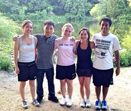 Another great run at Centennial Park!
