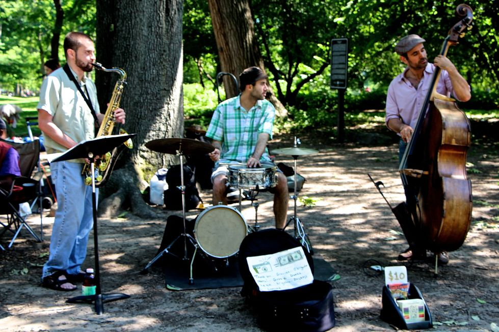 Central Park performers