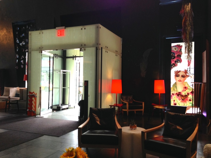 Hyatt Union Square Hotel lobby