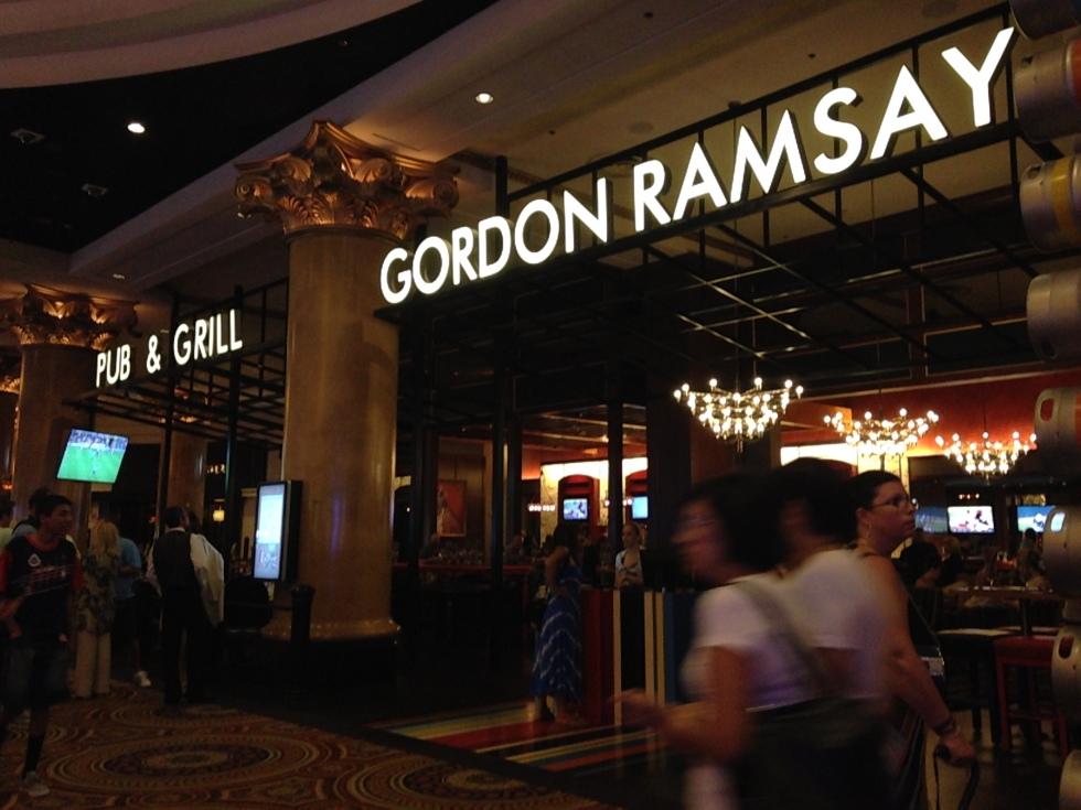 Gordon Ramsay Pub & Grill in Caesar's Palace