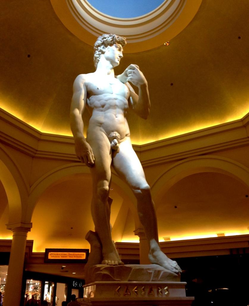 Caesar's Palace David replica