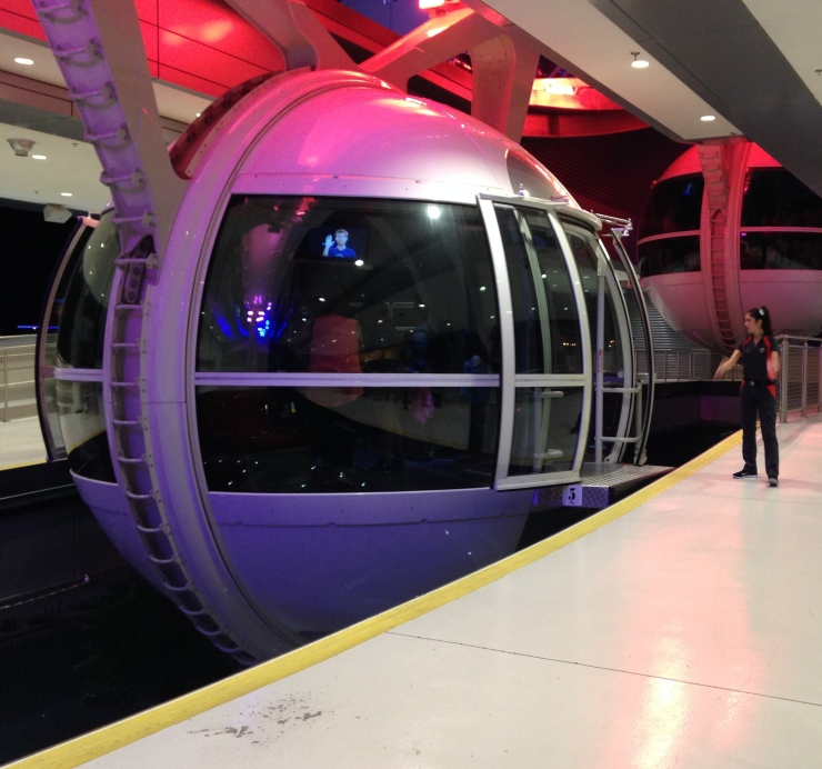 The High Roller Observation Wheel