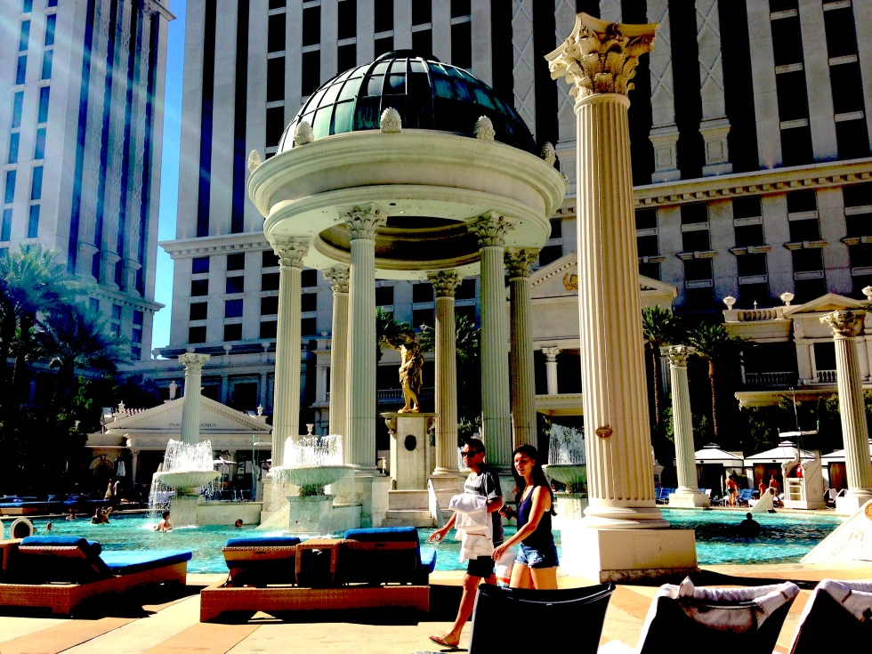 Pool at Caesar's Palace Las Vegas