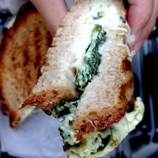 Urth Caffé Egg White & Spinach Breakfast Panini