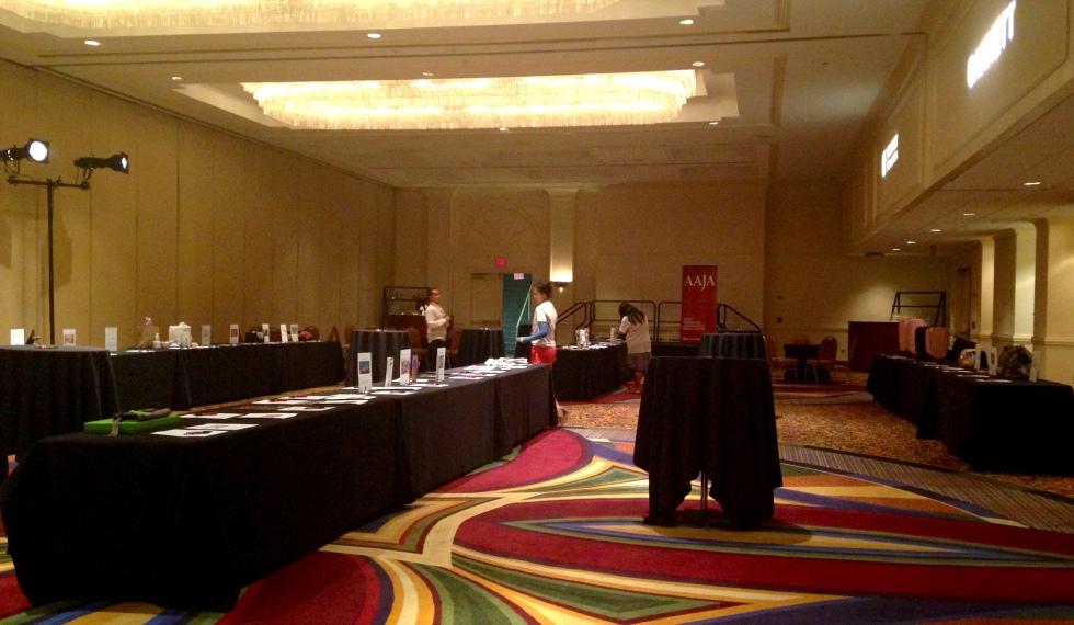 AAJA 2014 pre-silent auction