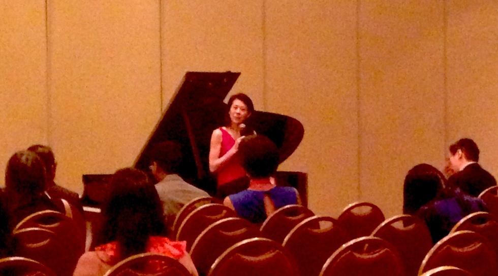 Pianist Jenny Lin at AAJA 2014
