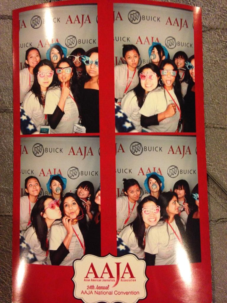 AAJA 2014 photo booth