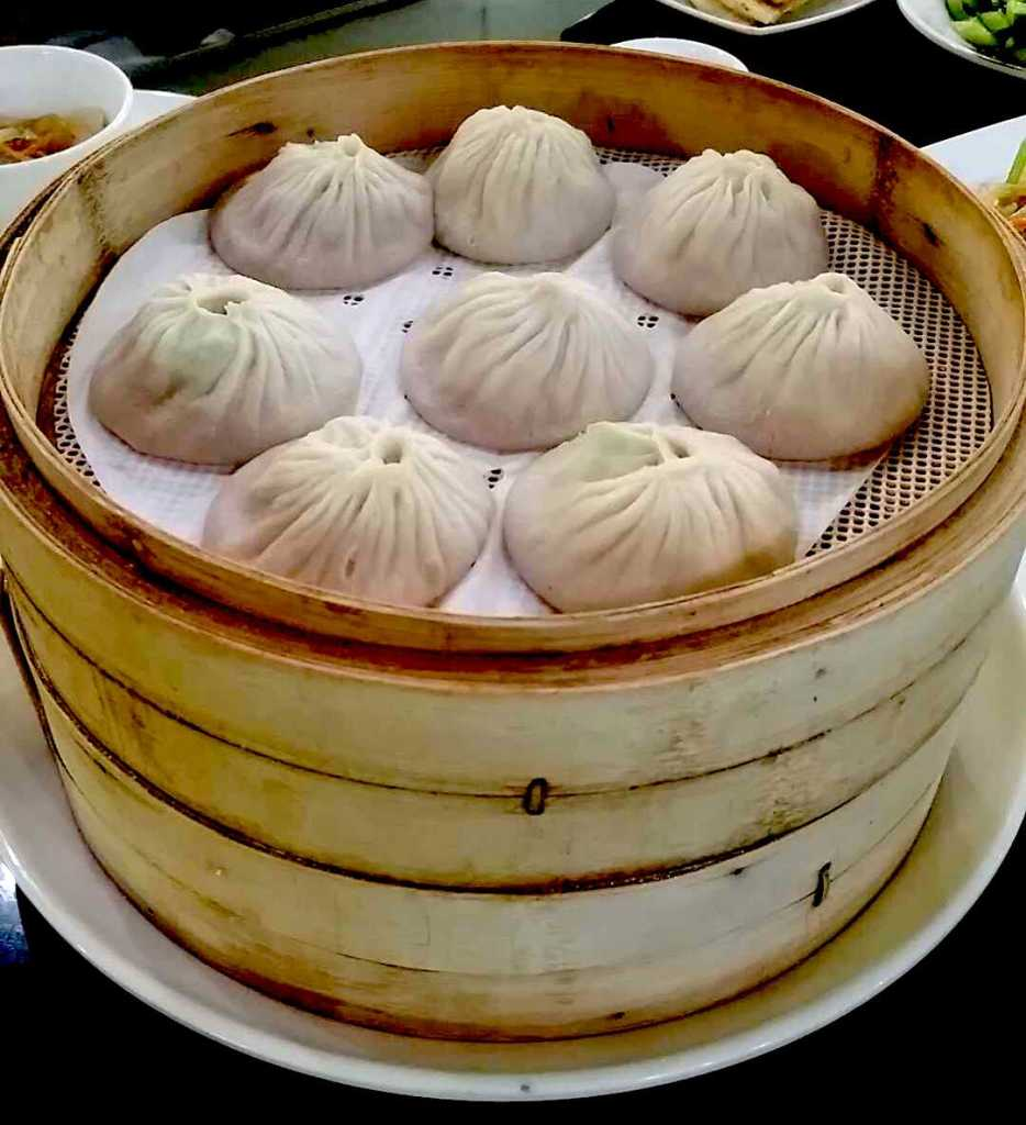 Xiaolongbao at JDS Shanghai Famous Food in Gaithersburg, MD