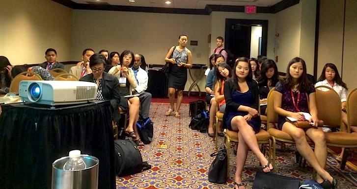 Opinion journalism talk at AAJA 2014