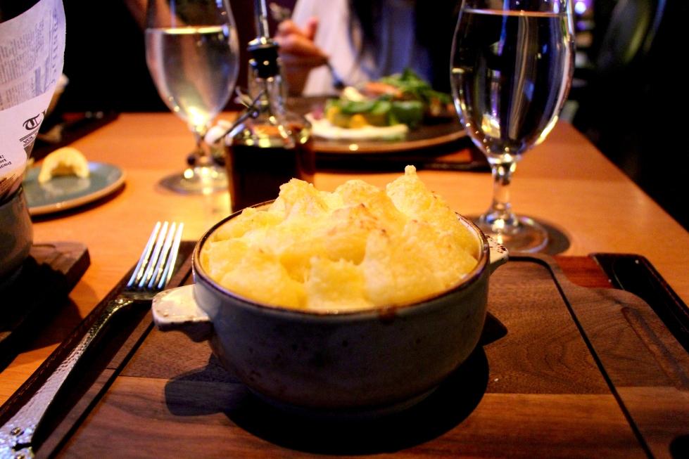 Shepherd's pie at Gordon Ramsay Pub & Grill in Caesar's Palace