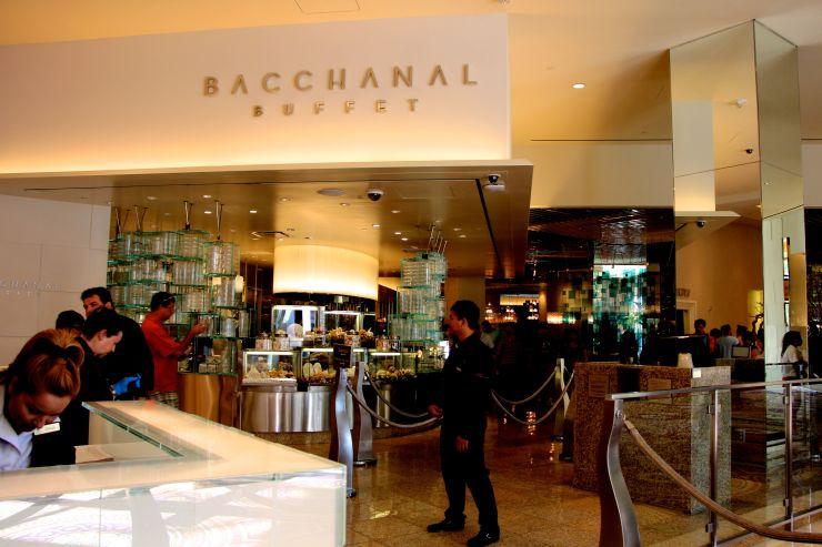 Bacchanal Buffet Caesar's Palace Las Vegas