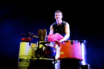 Recycled Percussion at the Quad Resort & Casino