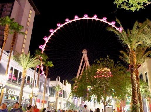 The High Roller Observation Wheel Las Vegas