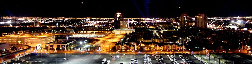 View of Vegas on the High Roller Observation Wheel Las Vegas