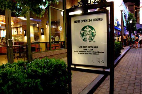 Starbucks Vegas open 24 hours
