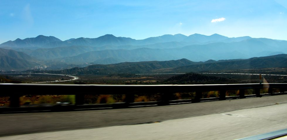 Driving from Vegas to L.A.