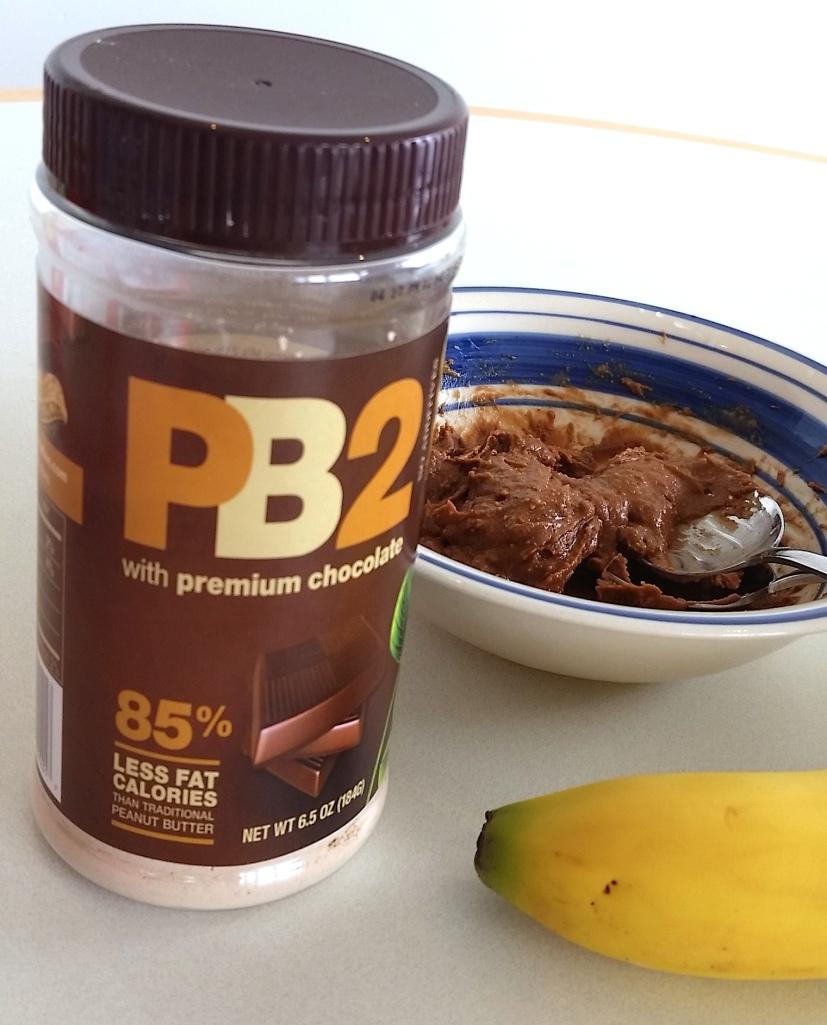PB2 with Dark Chocolate for breakfast