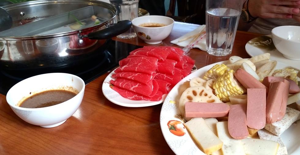 Hot Pot Buffet in Boston Chinatown