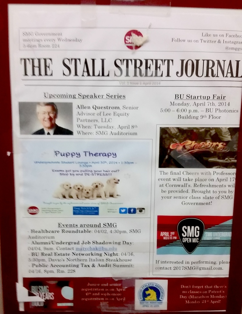 The Stall Street Journal