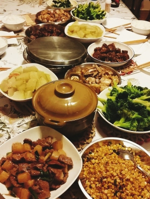 Mei family feast