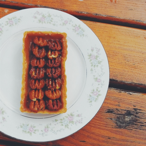 Pecan tart at Tatte Bakery & Café